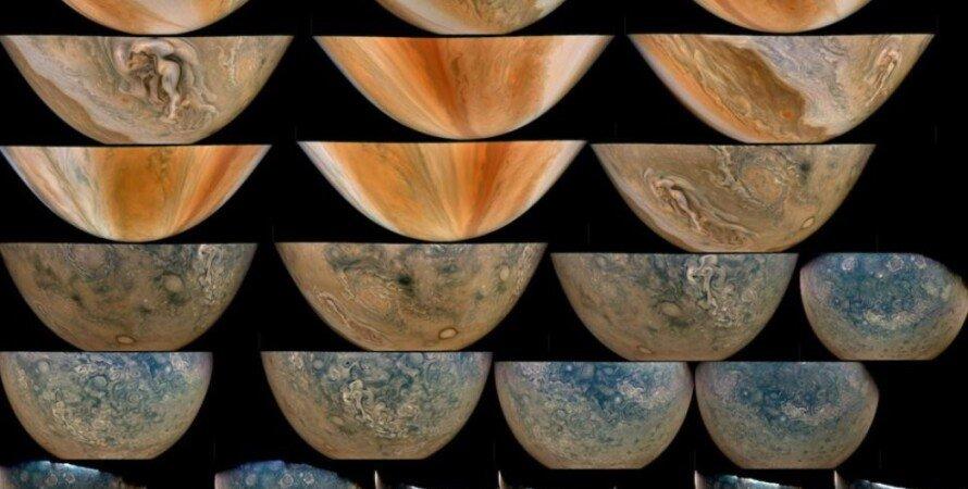 Юпітер, Юнона, бурі, планета, Сонячна система