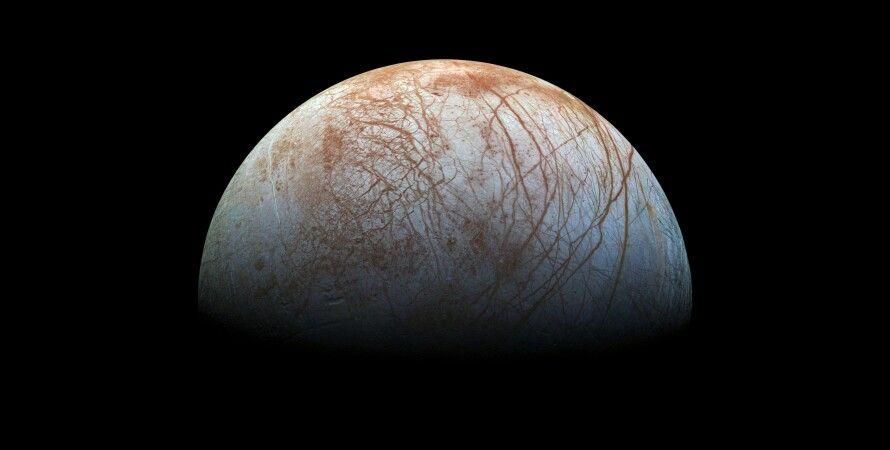 Европа, спутник, Юпитер, вода