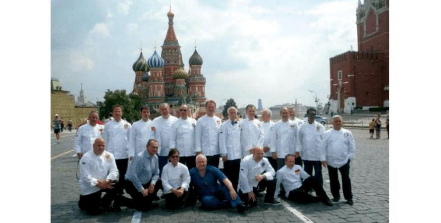 шеф-повары, москва, красная площадь, фото