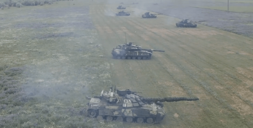 танкисты на учениях в крыму