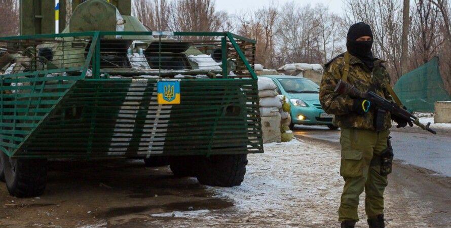 Блокпост в Мариуполе / Фото: evasiljeva.ru