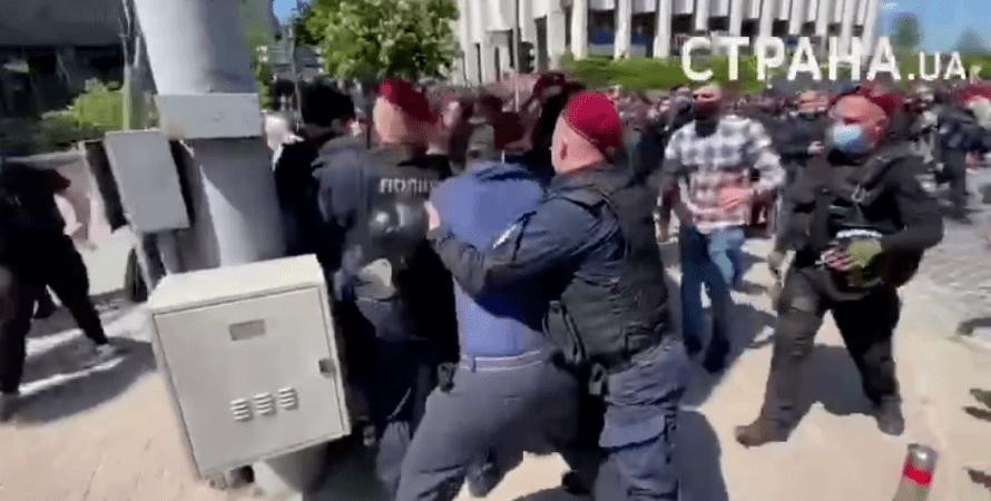 трансгендеры, киев, марш, транс-марш, крест, националисты, провокаторы, киевпрайд, 22 мая, радикалы, потасовки, драка