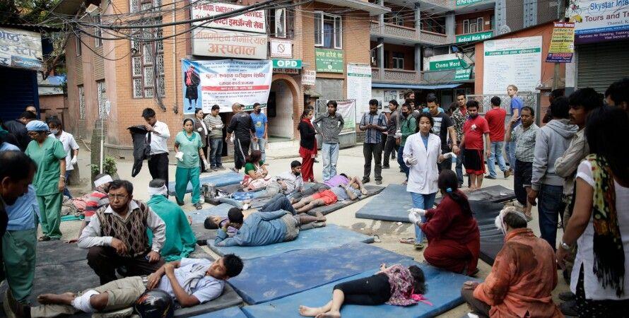 Пострадавшие в Непале / Фото: Twitter.com/UNICEF_Italia