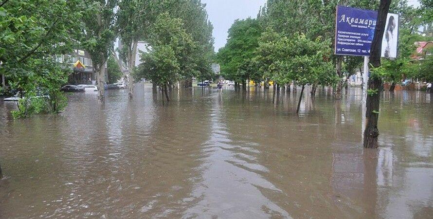 Наводнение / Фото: Pn.mk.ua