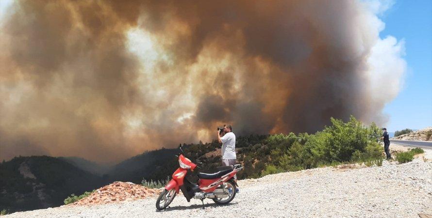 Туреччина, пожежа в Туреччині, лісові пожежі в Туреччині