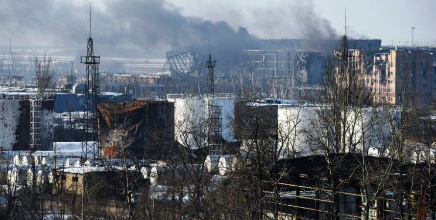 "Вид на Донецкий аэропорт / Фото: ""РИА Новости"""