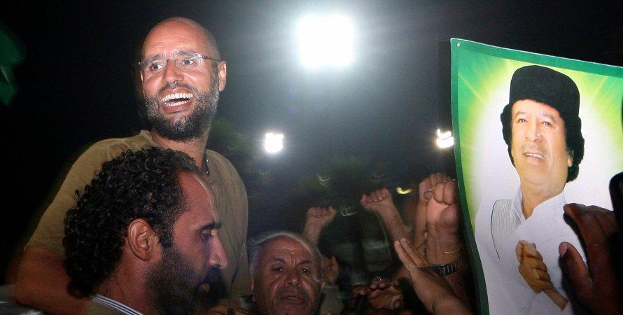 Сын Муаммара Каддафи хочет баллотироваться на президентские выборы