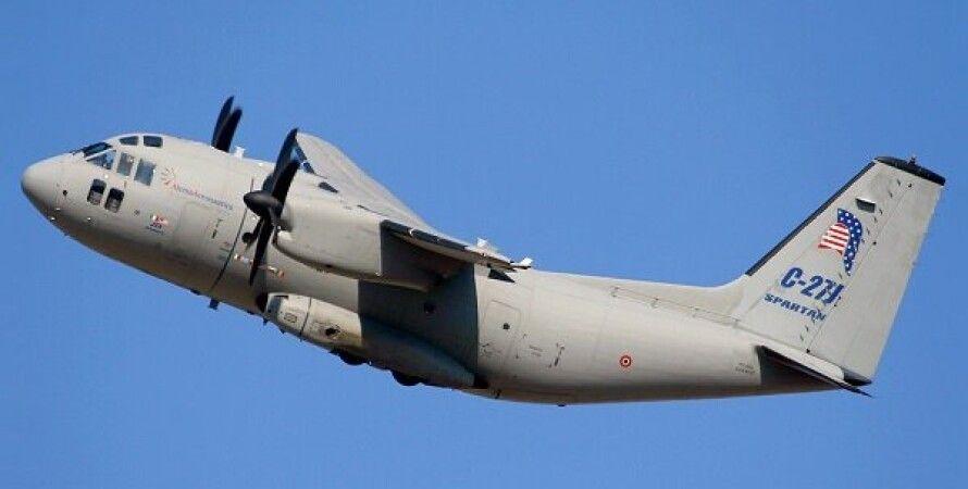 Военно-транспортный самолет C-27/Фото: JEl Nashra