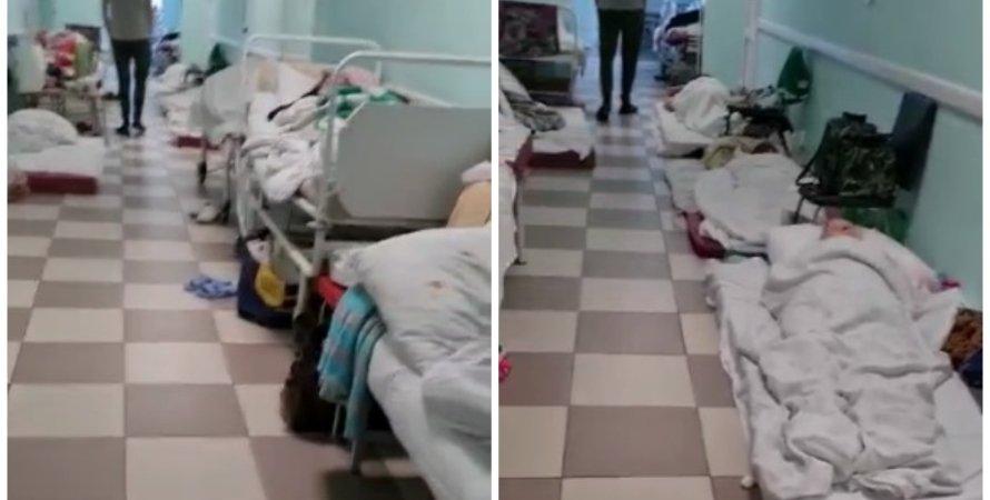 Санкт-Петербург, больница, больница Санкт-Петербурга, больница для COVID-больных