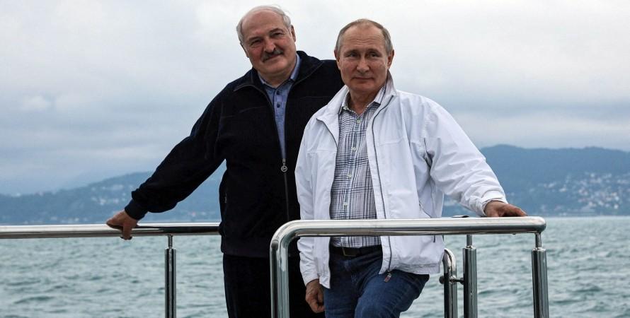 Лукашенко и Путин в Сочи