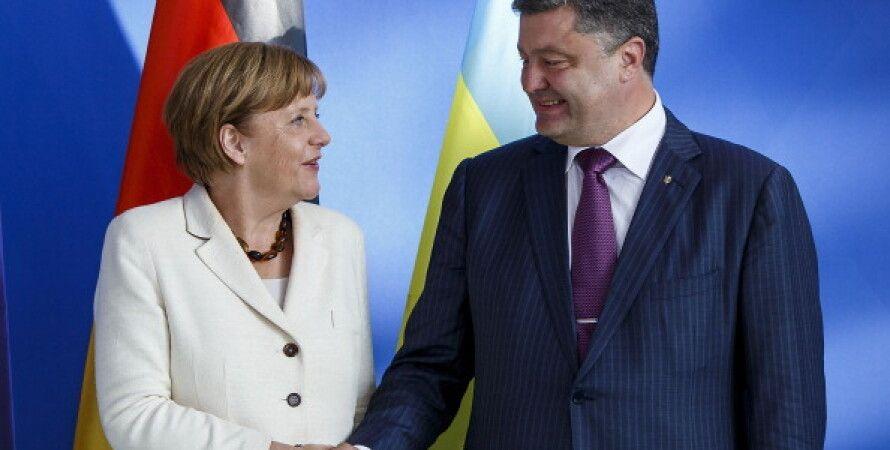 Ангела Меркель и Петр Порошенко / Фото: Getty Images