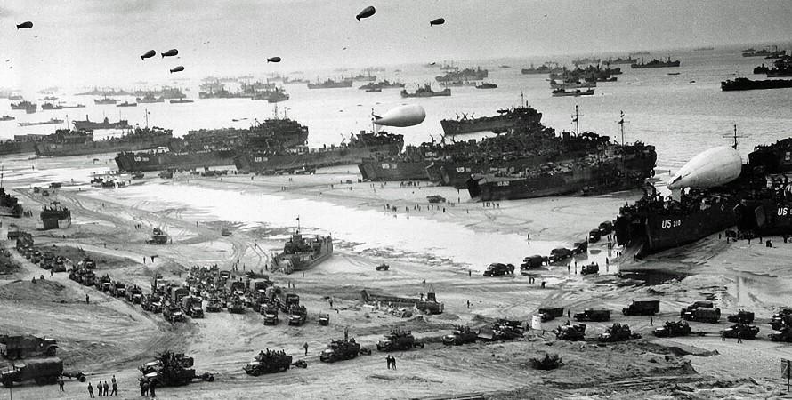 Друга світова війна, висадка союзників у Нормандії, архівне фото