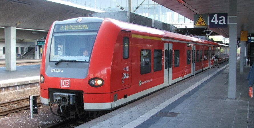 Немецкий поезд / Фото: Lifejournal