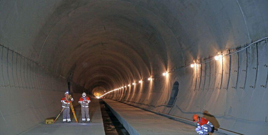 Бескидский тоннель / Фото: interbudmontazh.com
