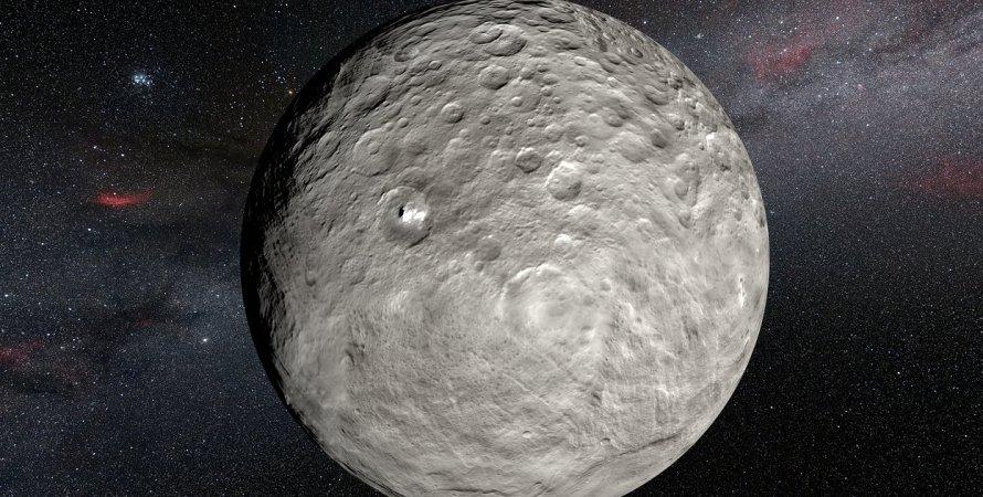 Церера, планета, Сонячна система, гравітація