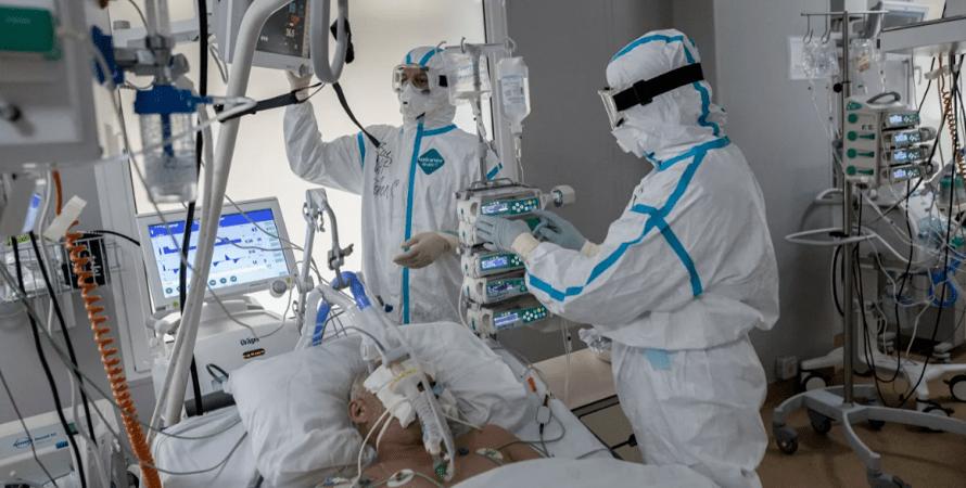 госпитализация в украине, коронавирус в украине