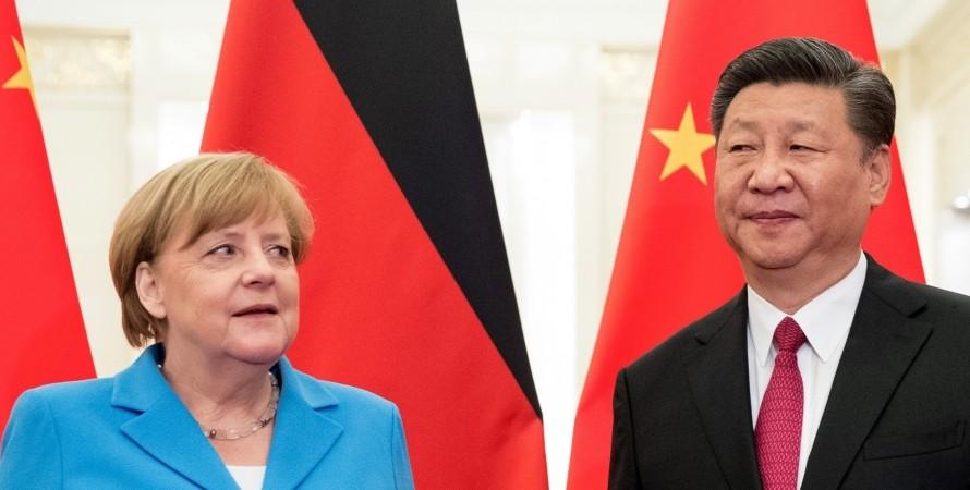 Ангела Меркель, Сі Цзіньпін, Німеччина, Китай