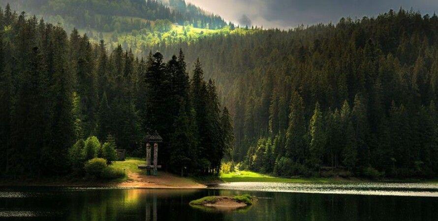 Озеро Синевир в Карпатах / Фото: Vsviti.com.ua