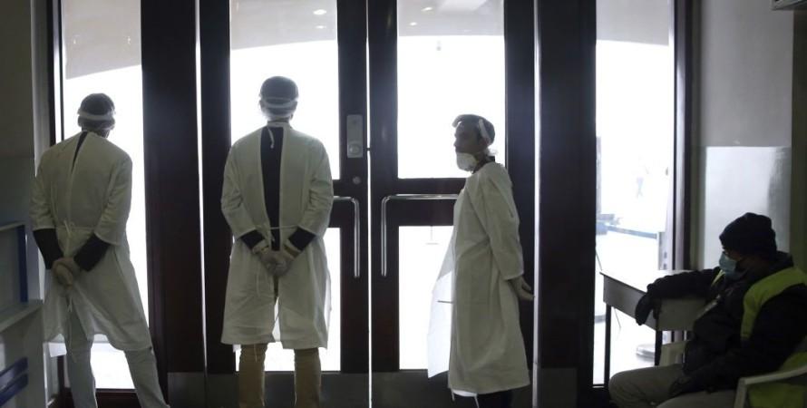 коронавирус, больница, врачи, фото