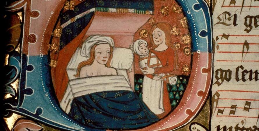 пологи, діва Марія, середньовіччя