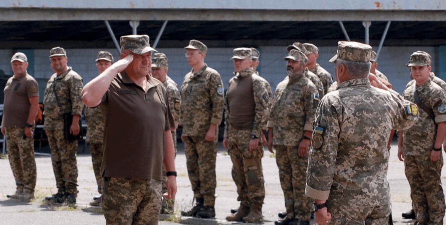 учения, Киев, резервисты, тероборона, ВСУ, война, территориальная оборона Киева