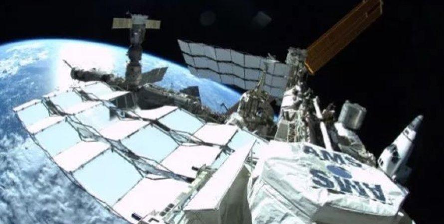 Альфа-магнітний спектрометр на орбіті
