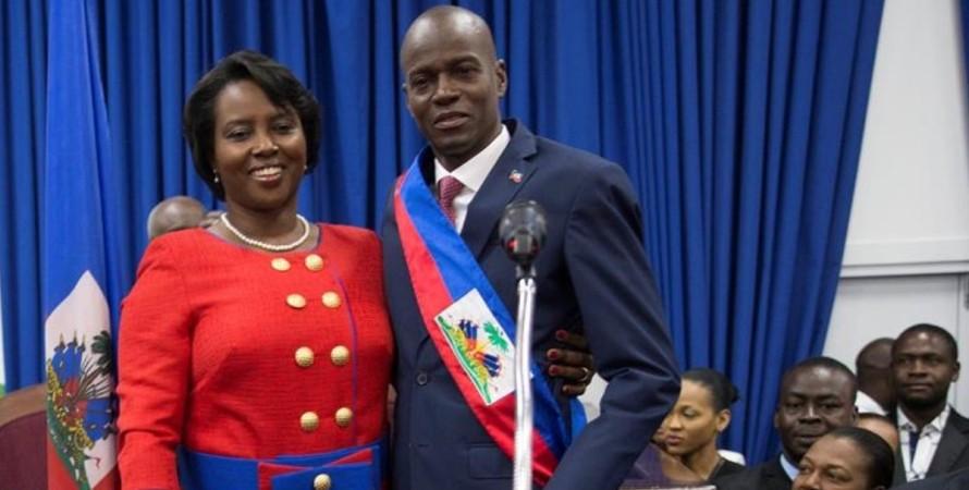Гаїті, Мартін Мойзе, Перша леді, вбивство,
