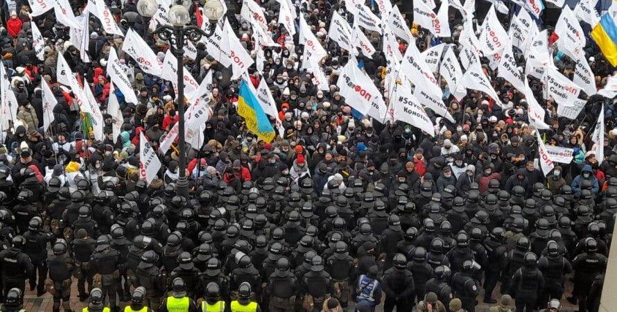 фоп, протесты, предприниматели, майдан, налоговый, кассовые
