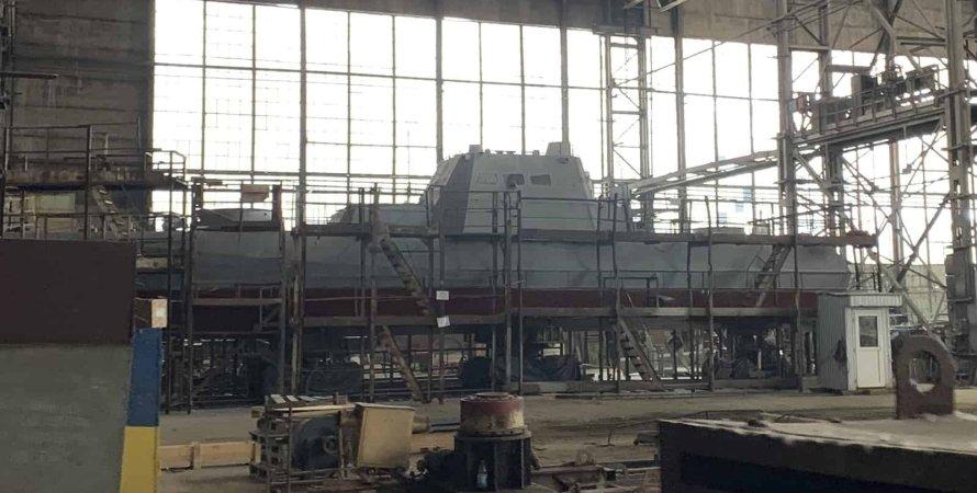 будівництво кораблів для вмс