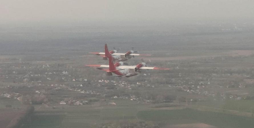 Ан-32П, пожежі в Туреччині