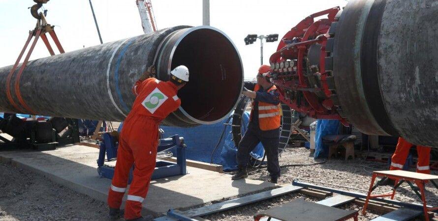 газопровід, будівництво