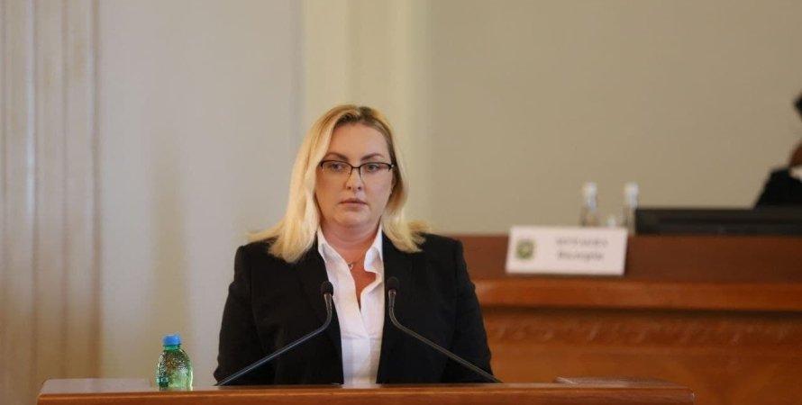 Тетяна Єгорова-Луценко, Харківська облрада, новий глава Харківської облради