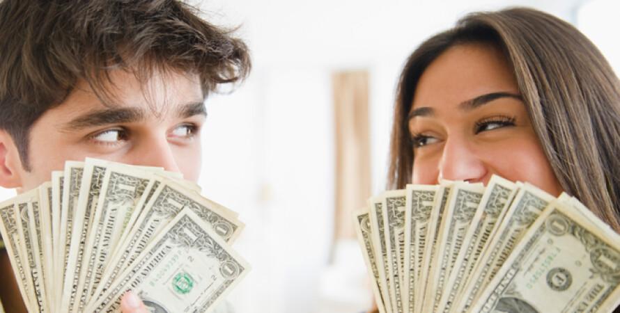 гроші, зарплата, чоловіки, жінки, гроші, Україна, середня зарплата