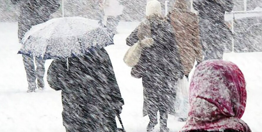 сніг, люди, погода, Україна, 3 лютого