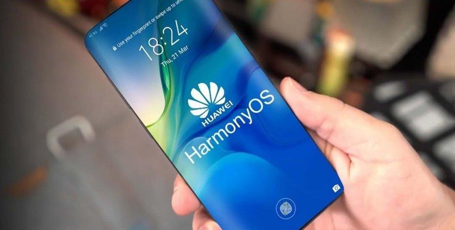 Huawei, HarmonyOS, смартфон