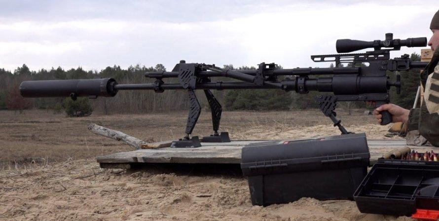 українські антіматеріальніе гармати
