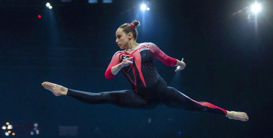 нові костюми збірної Німеччини, спортивна гімнастика
