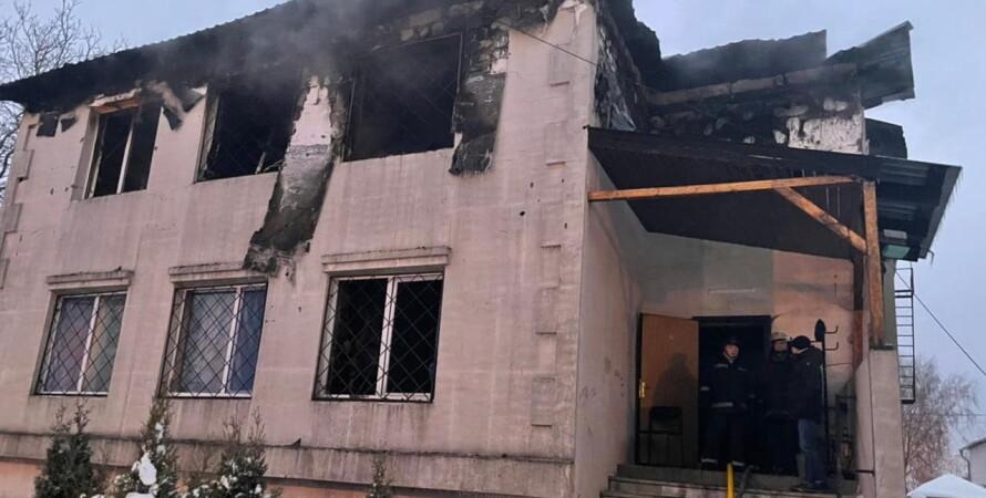 харків, будинок для людей похилого віку, пожежа