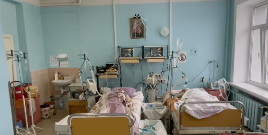 коронавірус, третя хвиля, госпіталізації, лікарня, фото