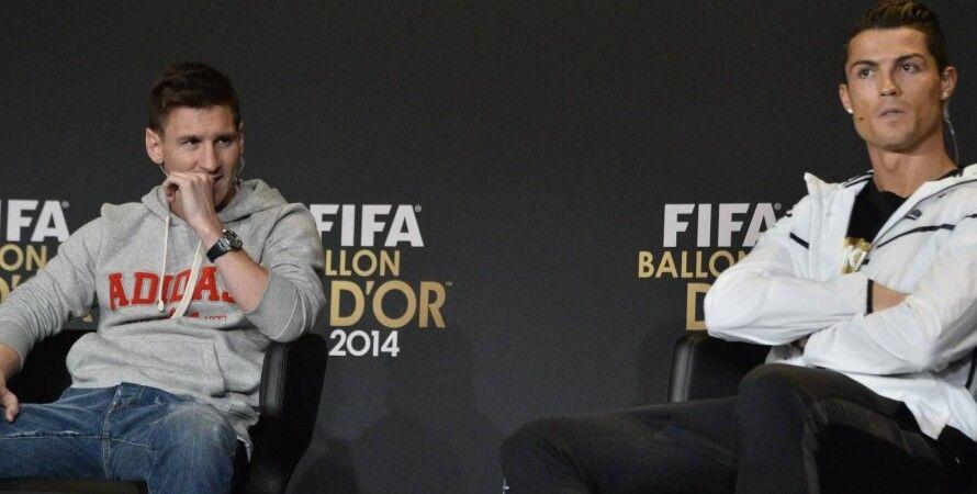 Месси и Роналду / Фото: Francefootball.fr