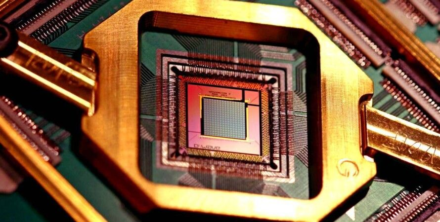 квантовый процессор, чип, D-Wave Systems Inc