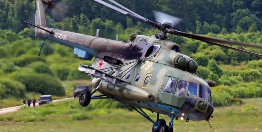 Вертолет Ми-8 / Иллюстративное фото: commons.wikimedia.org