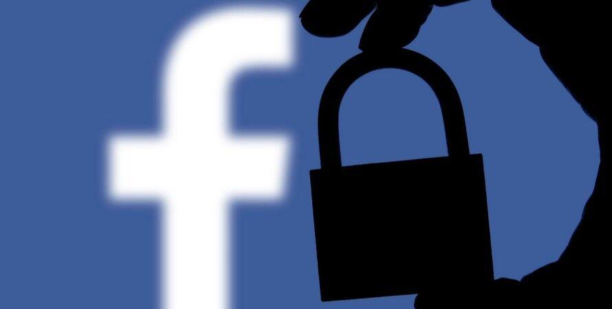Фейсбук, бан