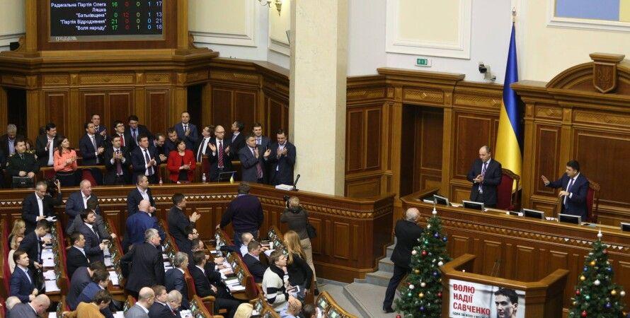 Принятие госбюджета-2016 в Раде / Фото: facebook.com/chesno.movement