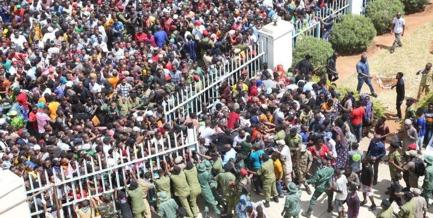 Танзания, президент, Джон Магуфули, похороны, давка, погибшие,