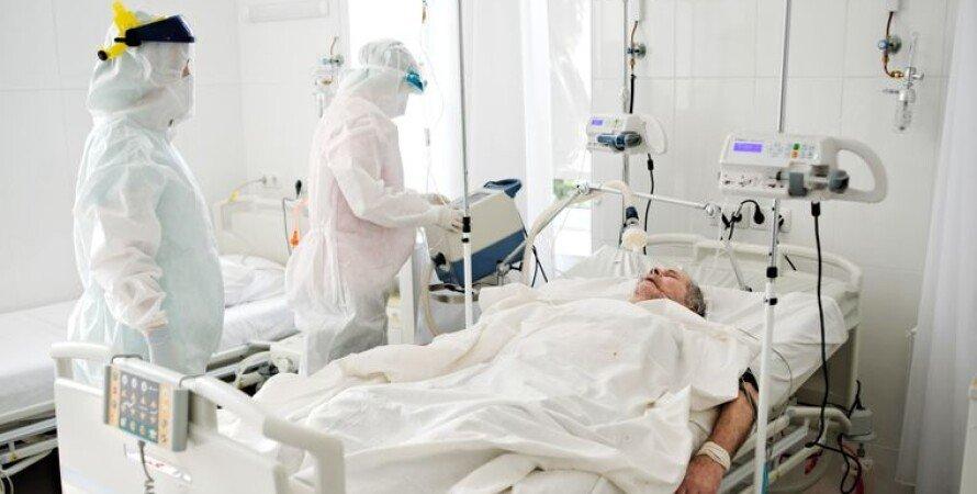 Больница коронавирус, корона, статистика госпитализаций, снижение, коронавирус, ковид