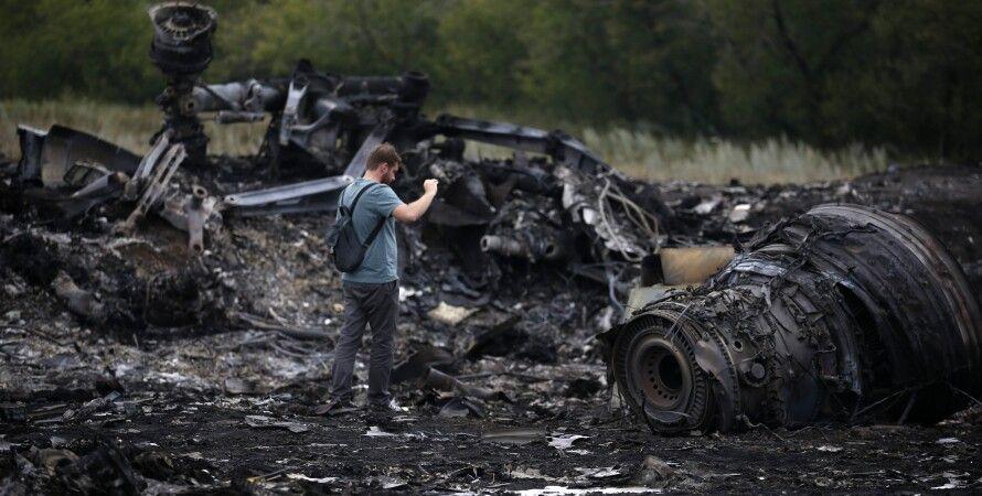 Катастрофа Боинга в Донбассе / Фото: ТСН
