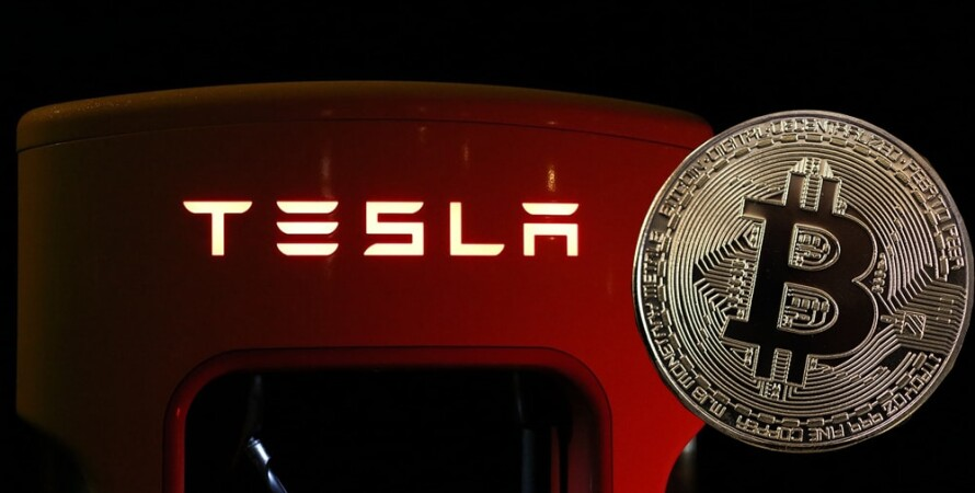 Tesla, Bitcoin, тесла, биткоин, криптовалюта