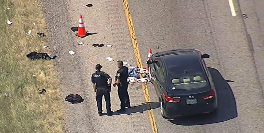 Водитель в Техасе застрелил мотоциклиста