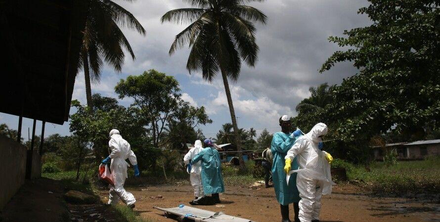 Военные специалисты США в Либерии, очаге эпидемии вируса Эбола / Фото: Getty Images